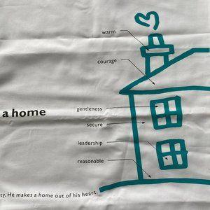 🎁 NWOT Human Touch Cotton Pillowcase Set